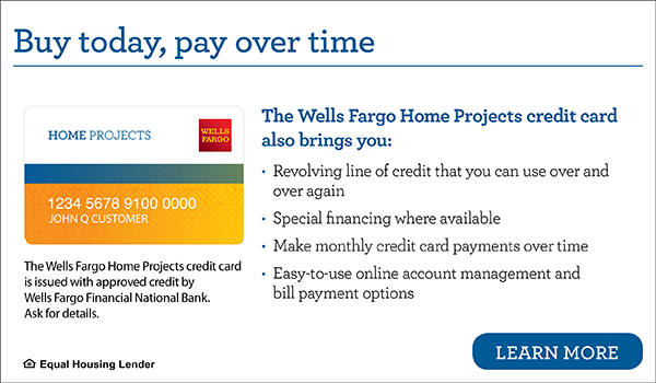 Lang 72 Financing with Wells Fargo